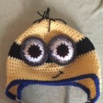crochet minion hat pattern free, free crochet hat patterns, minion hat pattern, minion hat, crochet minion hat, crochet minion hat video tutorial, step by step instructions for minion hat