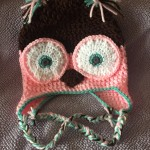 owl hat, crochet owl hat, crochet owl hat pattern, video tutorial for crochet owl hat, free step by step instructions for crochet owl hat free