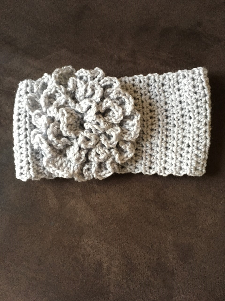 Free Crochet Pattern Headband With Flower : crochet headband with flower - FREE PATTERN & VIDEO