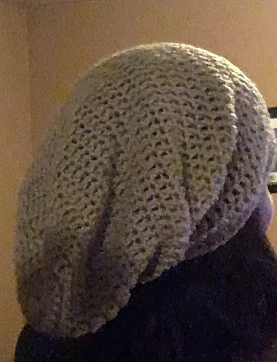 Super easy slouchy hat diy from home dt1010fo