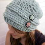 slouchy hat, crochet slouchy beanie, free crochet hat patterns, free crochet slouchy beanie patterns
