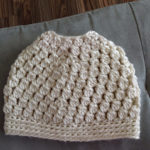 bun hat, crochet bun hat, free pattern for crochet bun hat, messy bun hat, crochet messy bun hat