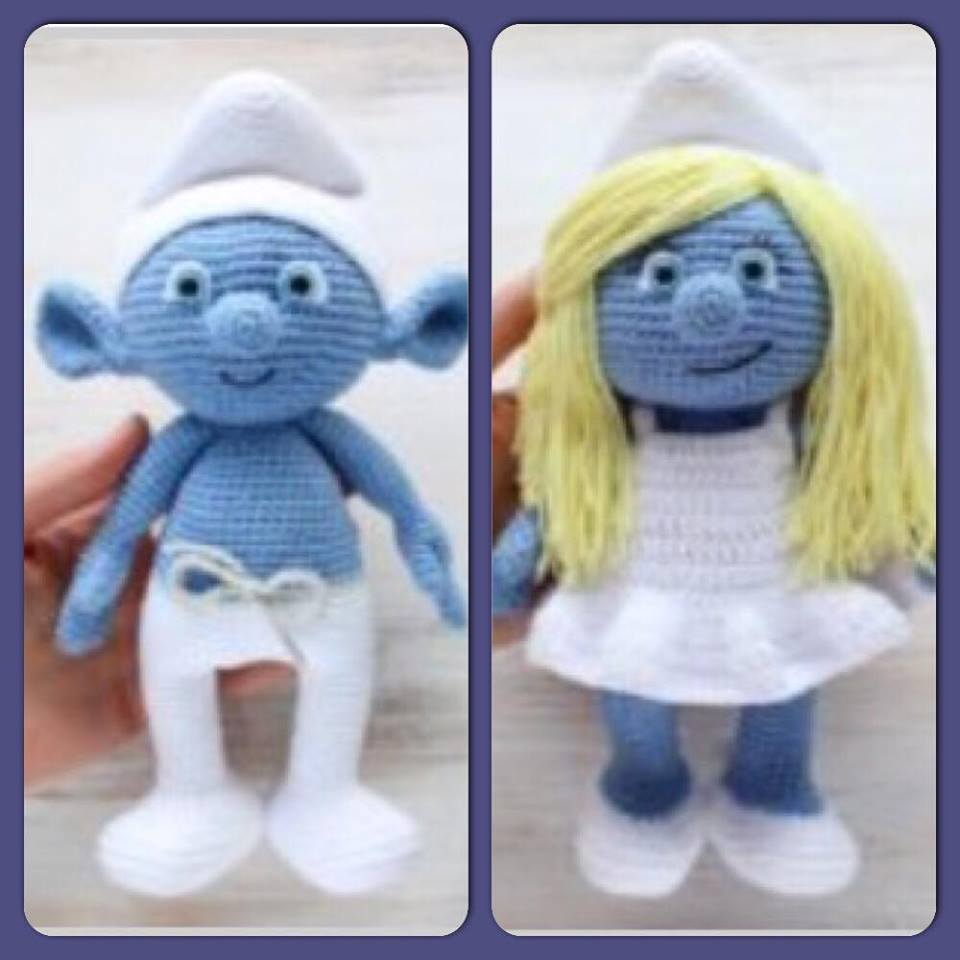 Free crochet amigurumi smurf pattern diy from home free crochet amigurumi smurf pattern bankloansurffo Image collections
