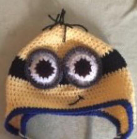 Crochet Minion Hat Free Pattern And Video Tutorial Diy From Home