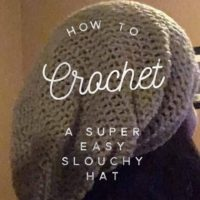 3d44130a916 how to crochet a super easy slouchy hat  free pattern   video tutorial