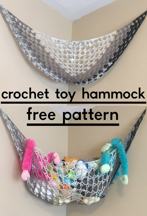 New Pattern Crochet Toy Hammock Storage Solution Diy From Home